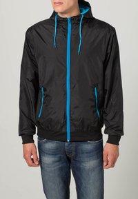 Urban Classics - Light jacket - black/turquoise - 2