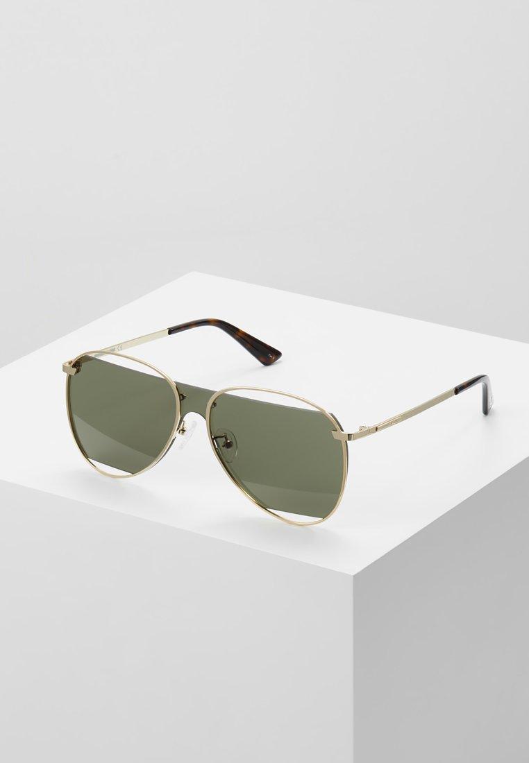 McQ Alexander McQueen - Solglasögon - gold-coloured/green