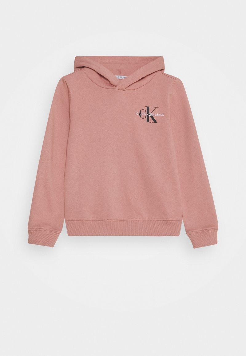 Calvin Klein Jeans - SMALL MONOGRAM - Mikina skapucí - pink