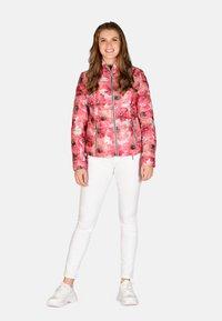 Cero & Etage - Winter jacket - pink flower - 3