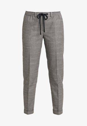 PANTS CHECK - Stoffhose - light grey