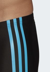 adidas Performance - FIT SEMI 3 STRIPES BOXER SWIM TRUNKS - Swimming trunks - black - 2