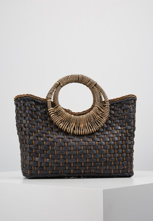 ANI BASKET BAG - Handbag - black