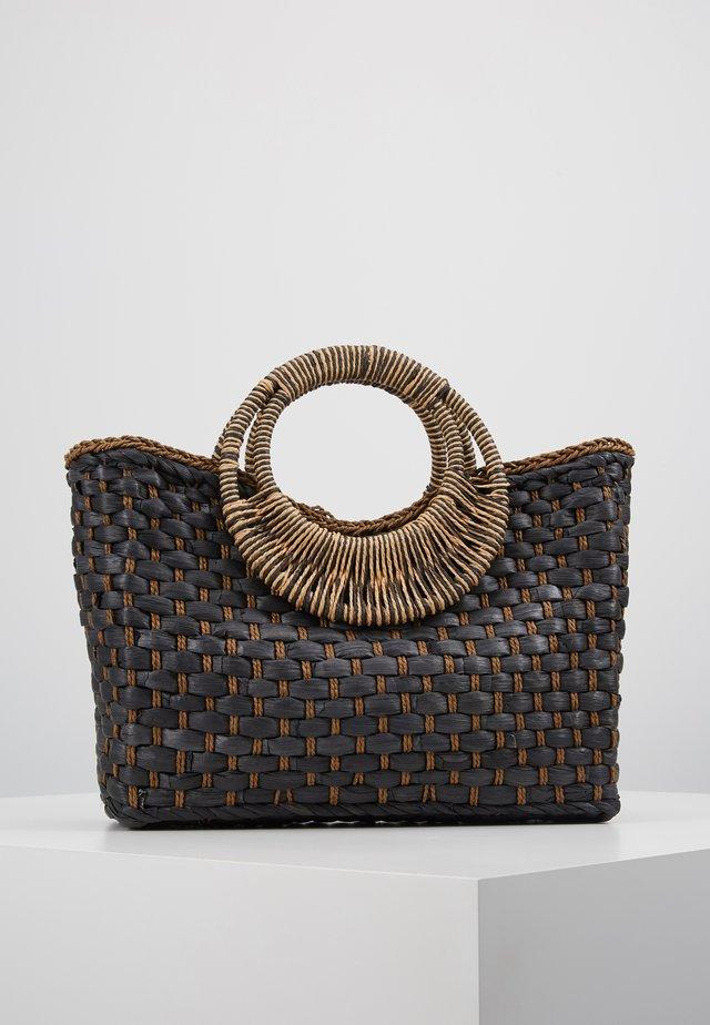 ANI BASKET BAG - Handbag - black
