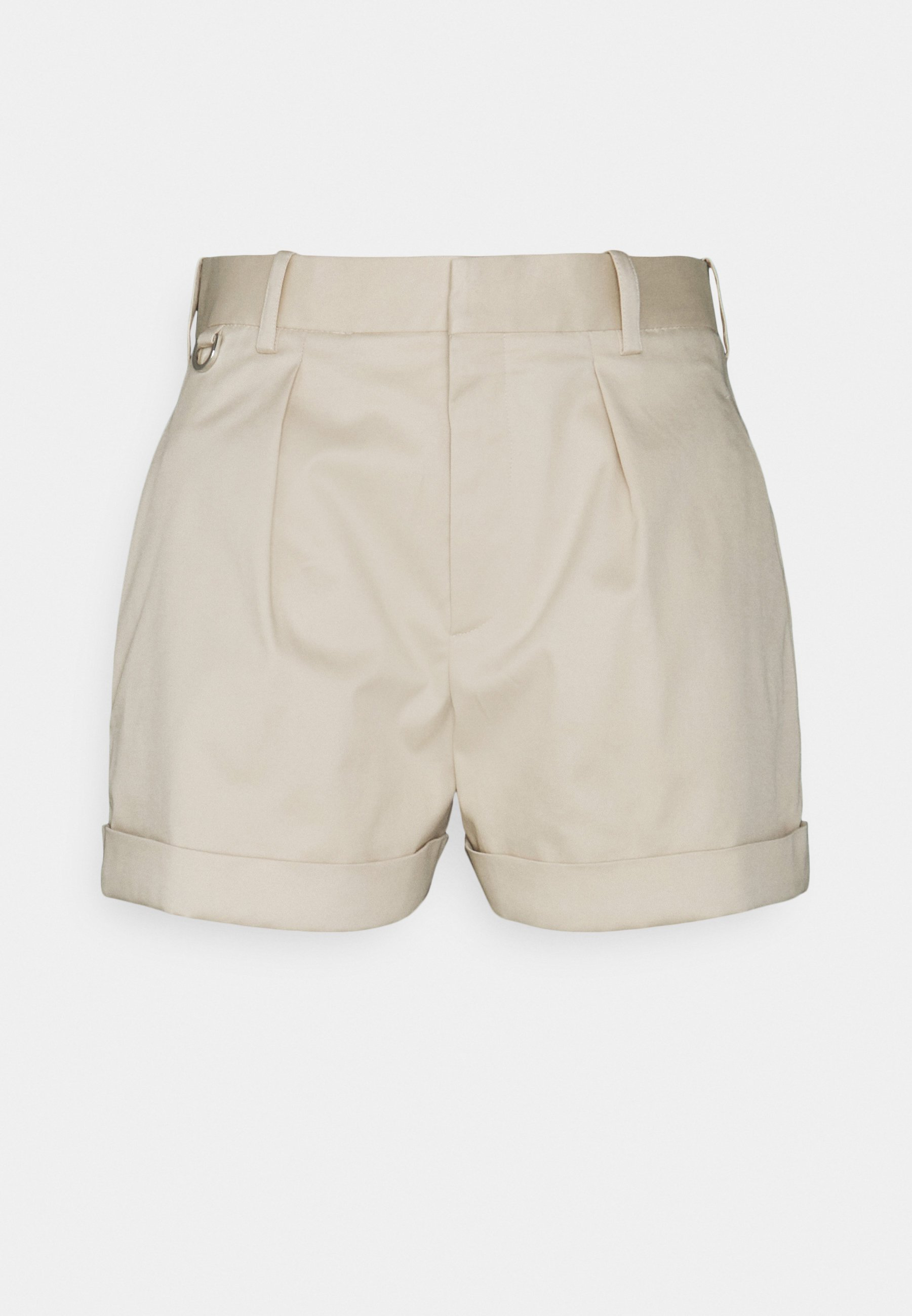 Women ONE PLEAT WITH TURN UP CUFF - Shorts
