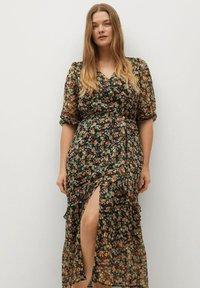Violeta by Mango - GARDEN - Day dress - schwarz - 0