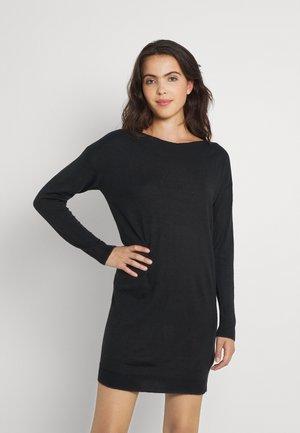 ONLAMALIA DRESS - Neulemekko - black