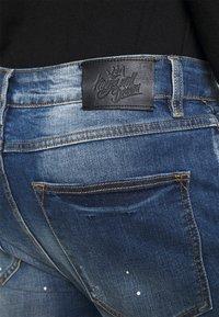 Kings Will Dream - KASSALA CARROT  - Jeans Tapered Fit - indigo - 4
