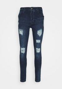 DISTRESSED - Jeans Skinny Fit - dark blue