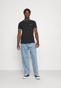 Marc O'Polo - SHORT SLEEVE CONTRAST TIPPING - Polo shirt - black - 1