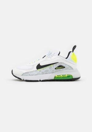 AIR MAX 2090 - Sneakers - white/black/pure platinum/volt