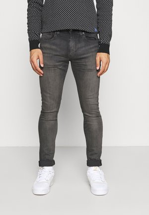 SKINNY TAPER - Jeansy Skinny Fit - greys