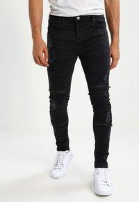 Brave Soul - ELBA - Jeans Skinny Fit - charcoal grey - 0