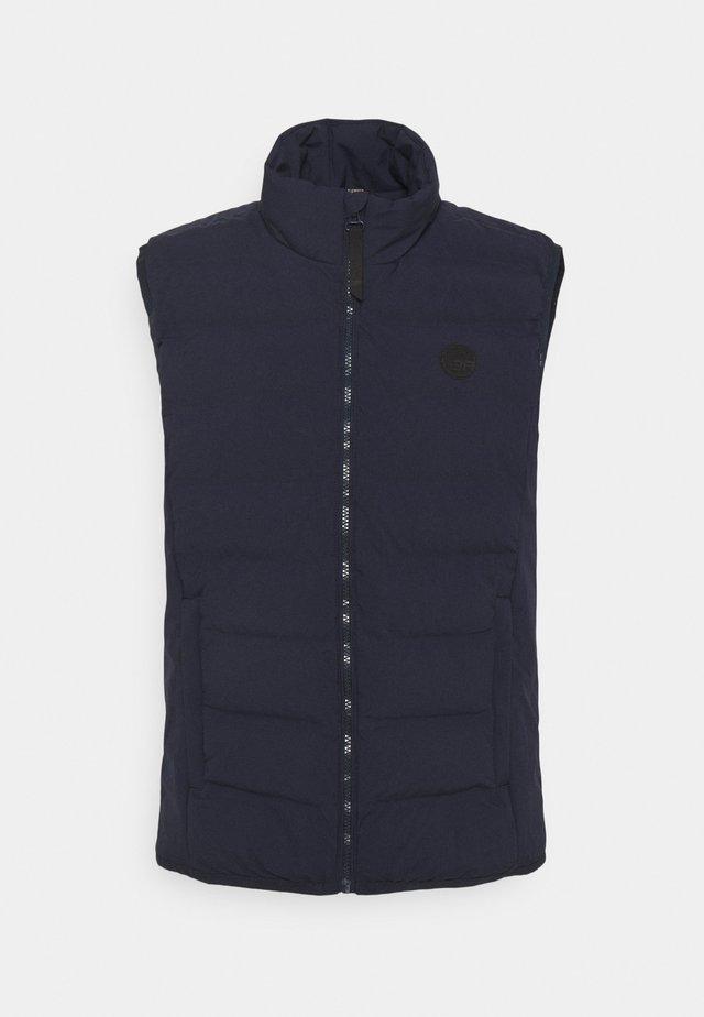ALBI - Waistcoat - dark blue