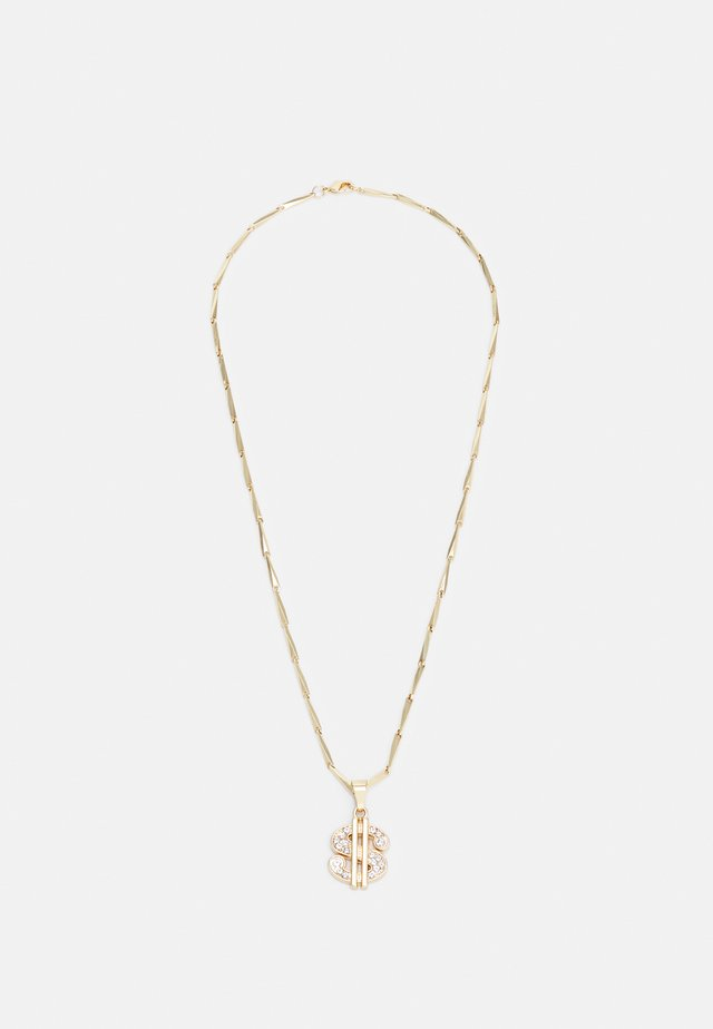 SMALL DOLLAR NECKLACE - Necklace - gold-coloured