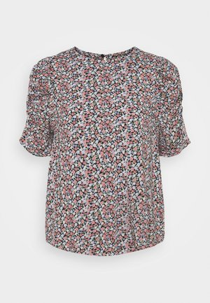 BYMMJOELLA BLOUSE - Print T-shirt - tan mix
