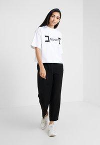 HUGO - DUFIA - T-shirts print - white - 1