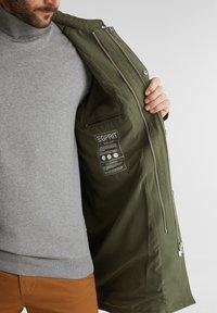 Esprit Collection - Parka - dark khaki - 4