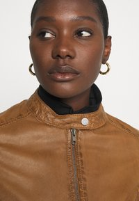 Oakwood - LINA - Leather jacket - cognac - 5
