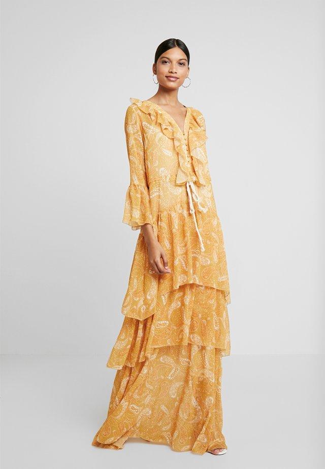 AMALFI DRESS - Długa sukienka - sunflower