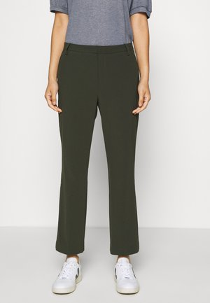 BIRDIE CROPPED - Trousers - green