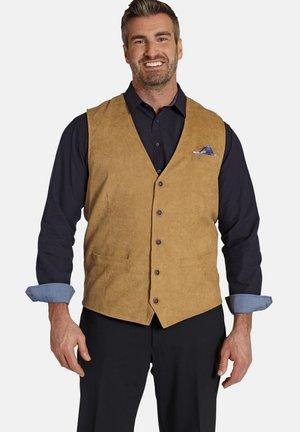 Suit waistcoat - hellbraun