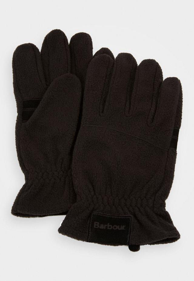 COUNTRY GLOVES - Gloves - black