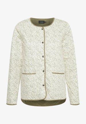 SLBANKS - Light jacket - viol print whisper white