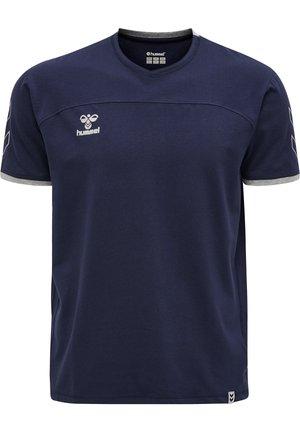 HMLCIMA  - Print T-shirt - marine
