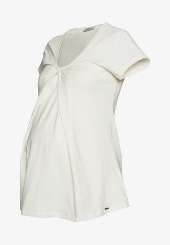 NURSING - T-shirt z nadrukiem - off white