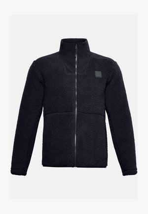 LEGACY SHERPA SWACKET - Fleece jacket - black