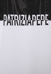 Patrizia Pepe - STUD TEE - T-shirt imprimé - bianco ottico - 2