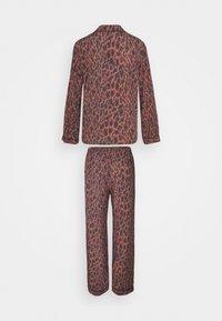 LingaDore - SET - Pyjamas - brown/black - 1