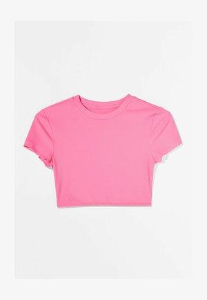 Triko spotiskem - neon pink
