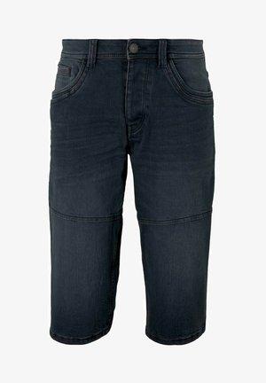 MORRIS  - Denim shorts - blue black denim
