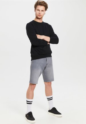 Jeans Shorts - grey