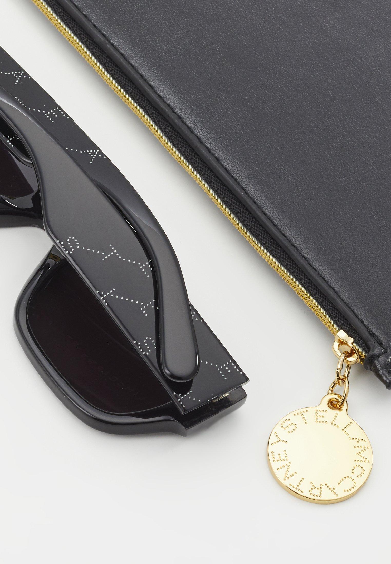 Stella McCartney Sonnenbrille - black/silver-coloured/schwarz - Herrenaccessoires IYf4j
