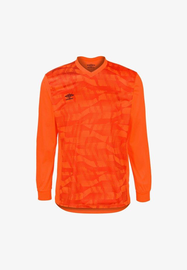 CLUB ESSENTIAL COUNTER TORWARTTRIKOT  - Sportswear - shocking orange / hunter orange / black