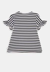 Marimekko - LAAJA TASARAITA - Jersey dress - black/white - 1