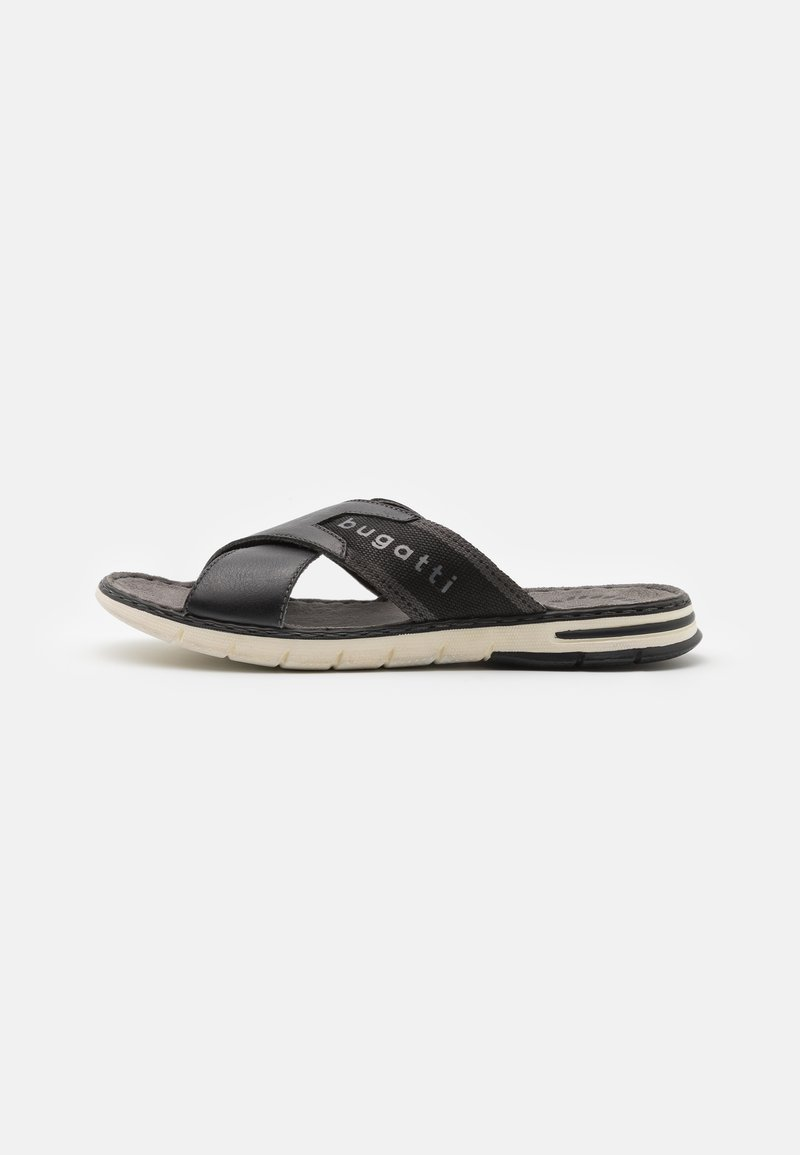 Bugatti - DARIO - Pantofle - black
