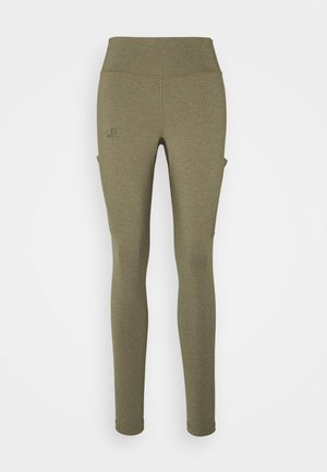 OUTLINE  - Legging - martini olive/heather