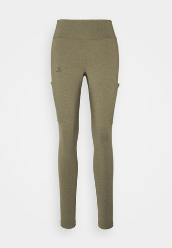 OUTLINE  - Tights - martini olive/heather