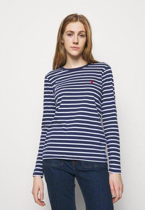 Print T-shirt - new classic navy