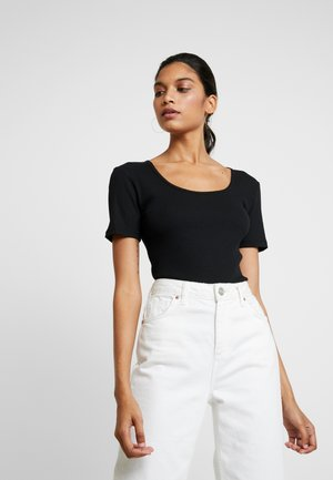 ARON - T-Shirt basic - black