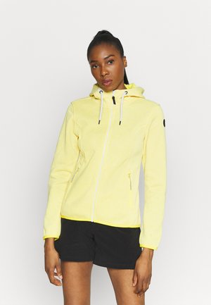 ADRIAN - Fleece jacket - yellow