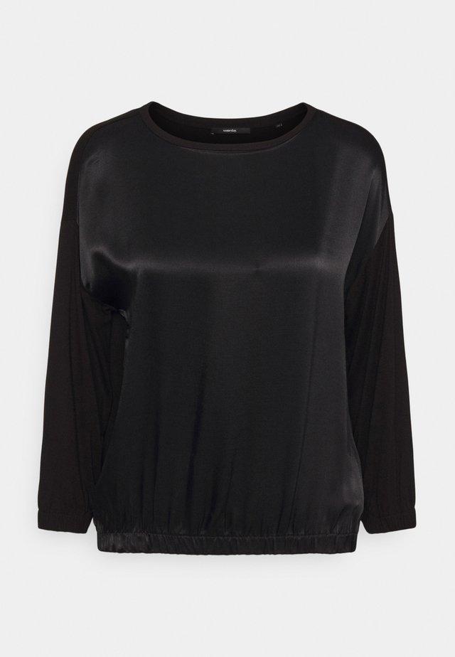 KALOU - Top sdlouhým rukávem - black