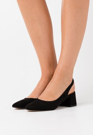 ELI COURT SHOES - Avokkaat - black