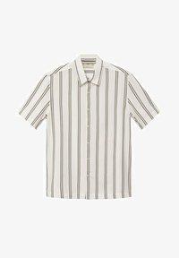 Mango - Camisa regular-fit fluida rayas - Camisa - blanco - 5