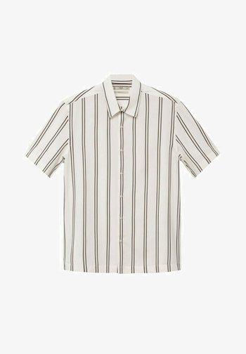 Camisa regular-fit fluida rayas
