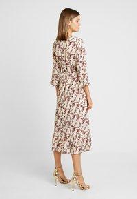 YAS - YASELLI 3/4 DRESS - Maxi dress - crème brûlée - 2